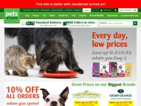 Pets At Home Discount Code & Discounts